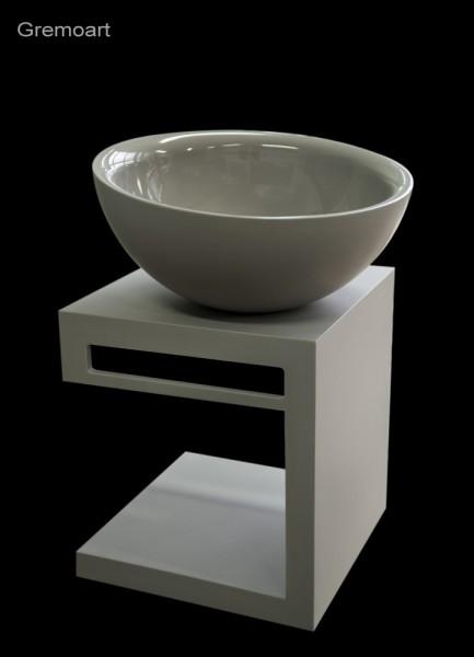 GremoArt umywalka okrągła wc